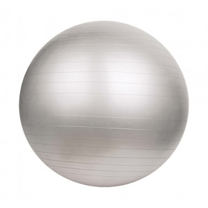 ANTI BURST GYM BALL WITHOUT PUMP 75CM-800G-GREY